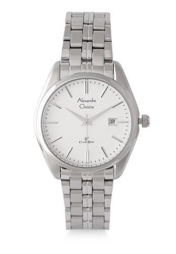 Alexandre Christie silver Alexandre Christie Jam Tangan Wanita - Silver White - Stainless Steel - 8558 LDBSSSL  408BDAC0F72A4DGS_1