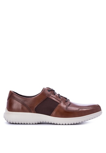 Rockport brown DP2 Fast Mudguard Smart Casual Shoes 92AF1SHE062F34GS_1
