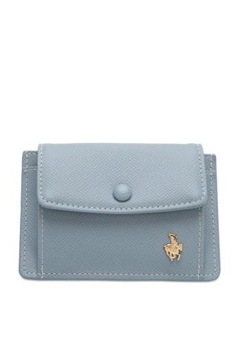 Swiss Polo blue Ladies Coin & Card Holder FA774AC0A20D88GS_1