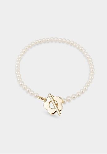 monojewelry FLORA PEARL BRACELET 46ECCACF426483GS_1