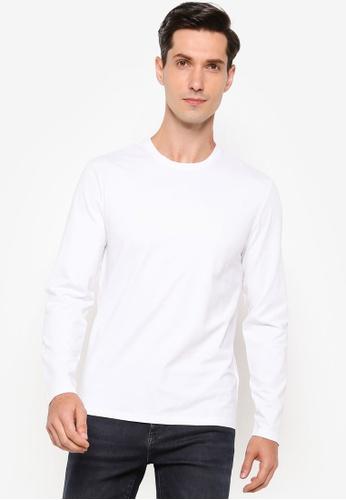Calvin Klein white CK Slim T-Shirt - Calvin Klein Jeans 5D99DAA1182269GS_1