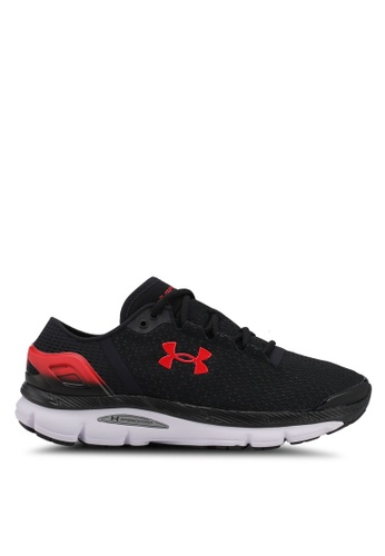 Under Armour black UA Speedform Intake 2 Shoes UN337SH0SU9FMY_1