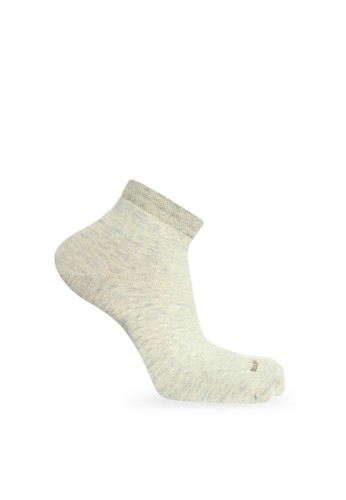 SOXGALERI grey Sox Galeri Cotton Ankle Women Socks - Solid Colour 0A55AAA262D544GS_1
