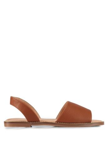 Alfio Raldo brown Strappy Sandals 5F182SHC5A8713GS_1