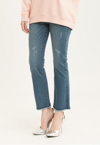 H:CONNECT blue Slim Fit Denim Pants 64AABAA0F96391GS_1