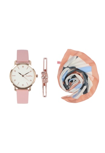 Carlo Rino The Dreams Of Time - Pink with Pink Bundle 4358DACDE8C2BEGS_1