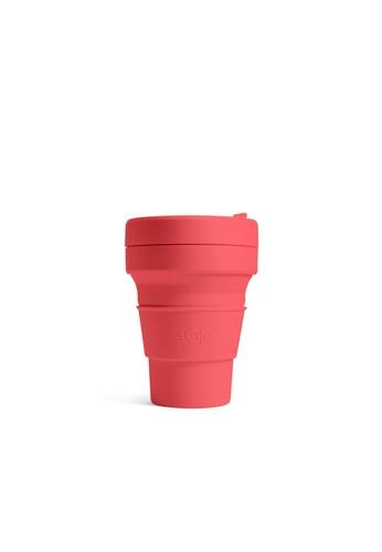 Stojo stojo pocket cup 12oz / 355ml, Coral D6721HL489ABDFGS_1