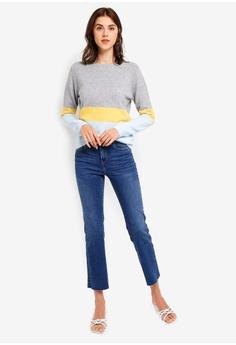 0306115382 Vero Moda Doffy Colorblock Sweater RM 119.00. Sizes S M L XL