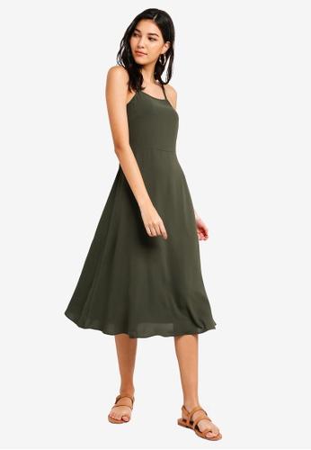 9fd1c4df145 Shop ZALORA Cami Midi Dress Online on ZALORA Philippines