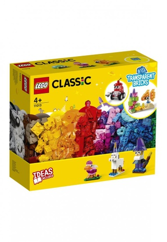 LEGO multi LEGO Classic 11013 Creative Transparent Bricks (500 Pieces) DB060TH47EA5F3GS_1