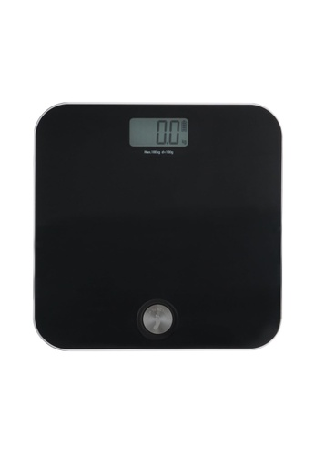 JVD JVD Lifestyle Dyna Digital Personal Scale - Battery Free, Black. 83293HLAC01AAEGS_1