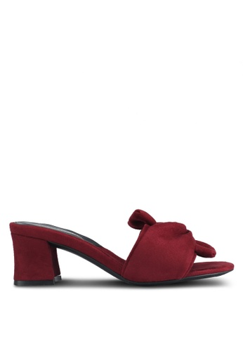 Christy Ng red Arizona Slip In Mules D7803SH571DB1DGS_1