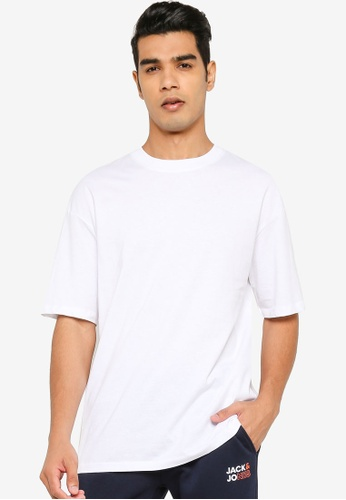 Jack & Jones white Orbrink Crew Neck Tee 1A01BAAECA95A9GS_1