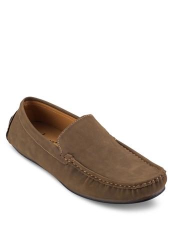 豆豆鞋底休閒樂福鞋, 鞋,zalora時尚購物網的koumi koumi 船型鞋
