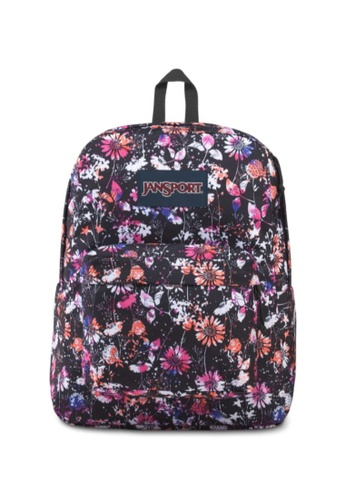 Jansport multi Jansport Unisex SuperBreak Backpack Chroma Floral - 26L B5ED1AC896F0F2GS_1