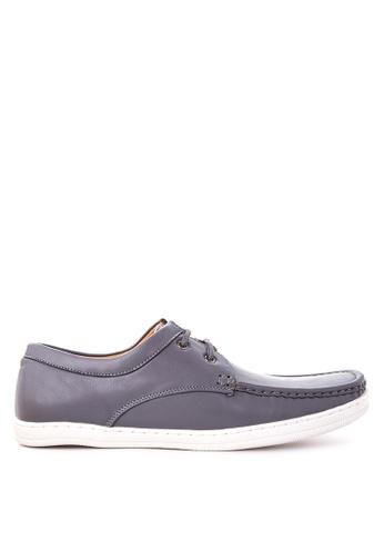 H2Ocean grey Troy Boat Shoes H2527SH81CQGPH_1