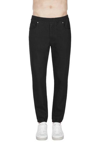 Armani Exchange black AX Armani Exchange Men Slim Jogger Pants - Spring & Summer 2021 Collection 00C29AA80EB39DGS_1