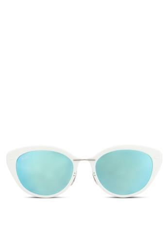RB4250 太陽眼鏡, 飾品配esprit hong kong件, 貓眼框