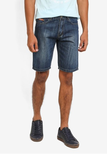 Fidelio blue Casual Denim Shorts E2256AA293A2AFGS_1