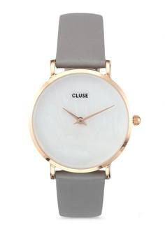 Minuit La Perle 玫瑰金 白色 Pearl/淺褐色 灰色 手錶