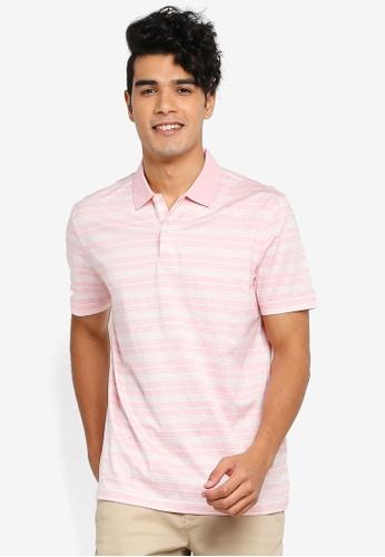 Gay Giano pink Extra Fine Mercerised Polo 73FDCAA26BFC4CGS_1