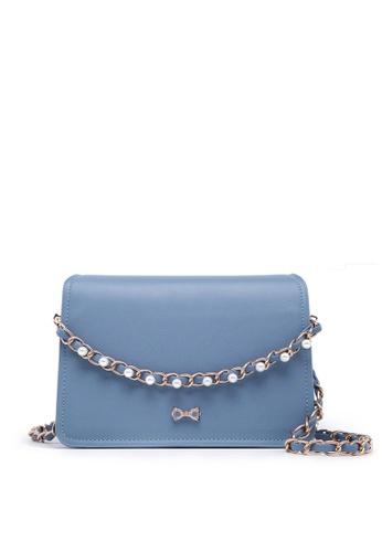 4156acbc9e3 Fancy Bow Bow Pearl Shoulder Bag