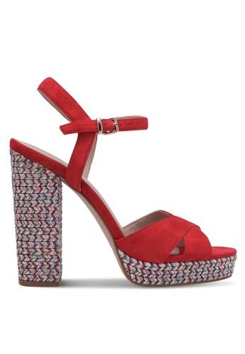 ALDO red Joany Heels AL087SH0RYE4MY_1