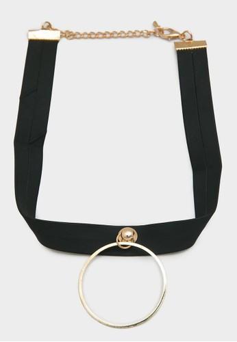 Berrybenka Label black Billa Necklace Black D1977ACD2622E8GS_1