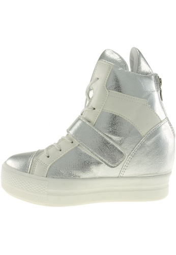 Maxstar Maxstar Women's C2 Velcro Hidden Heel Suede High Top Sneakers US Women Size MA168SH73BZMHK_1