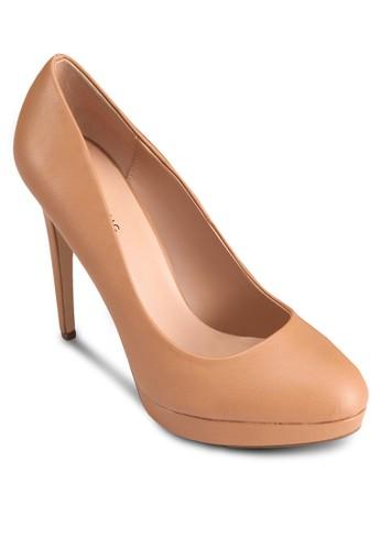 Kedirien 仿皮尖頭高跟鞋, 女鞋esprit官網, 鞋