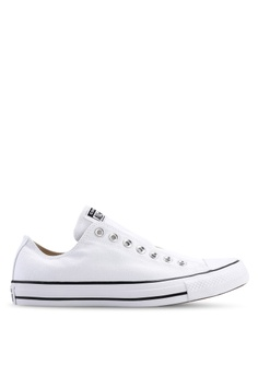d001c770a077 Converse white Chuck Taylor All Star Core Slip On Sneakers  04F0BSHD14254BGS 1