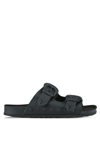 TOPSHOP black Falcon Western Sliders TO412SH0SHIAMY_1