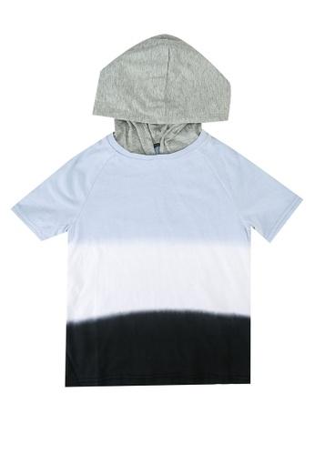 Guess black Color-Block Contrast Hoodie 3EBA4KAC736C1FGS_1