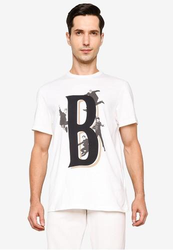 Springfield white Beatles T-Shirt 9A984AAE3313AFGS_1