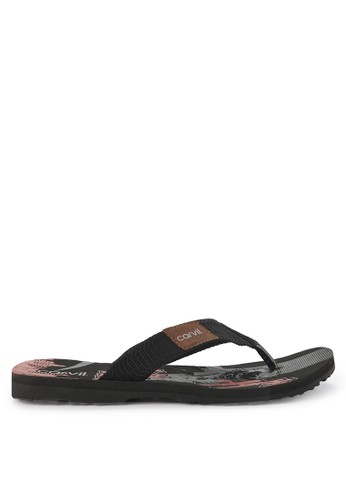 CARVIL black and multi Sandal Sponge Man Dofie CDB40SH2697F24GS_1