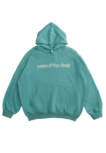 Twenty Eight Shoes Loose-Fitting Letter Embroidered Hoodie 1355W20 4FF01AA98A8D1DGS_1