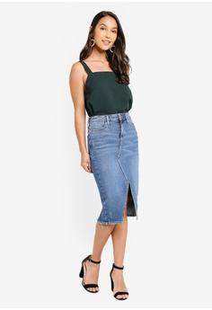 a98ec918 River Island Ariel Aja Midi Skirt S$ 64.90. Sizes 6 8 10 12 14