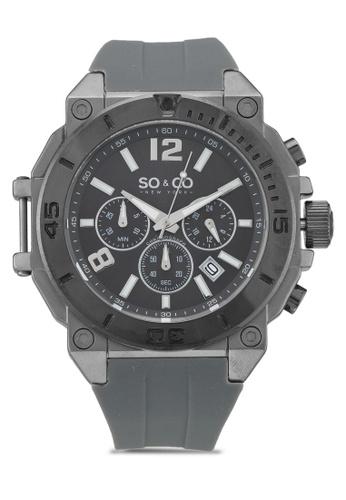 SO&CO grey Yacht Timer Watch 5231 8EC7BAC82C3FFBGS_1