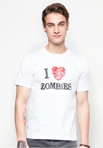 『我愛木乃伊』文字TEE, 服飾, 印圖esprit台北門市T恤