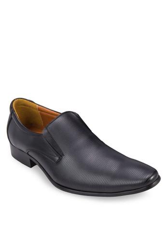 細條紋尖頭紳士皮鞋, esprit 兼職鞋, 鞋