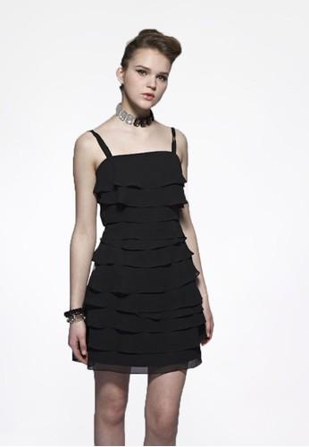 甜美個性女孩蛋糕裙短洋裝,esprit outlet台北 服飾, 派對洋裝