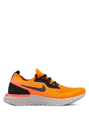 Nike orange Nike Epic React Flyknit Shoes 0A05DSHE01090FGS_1