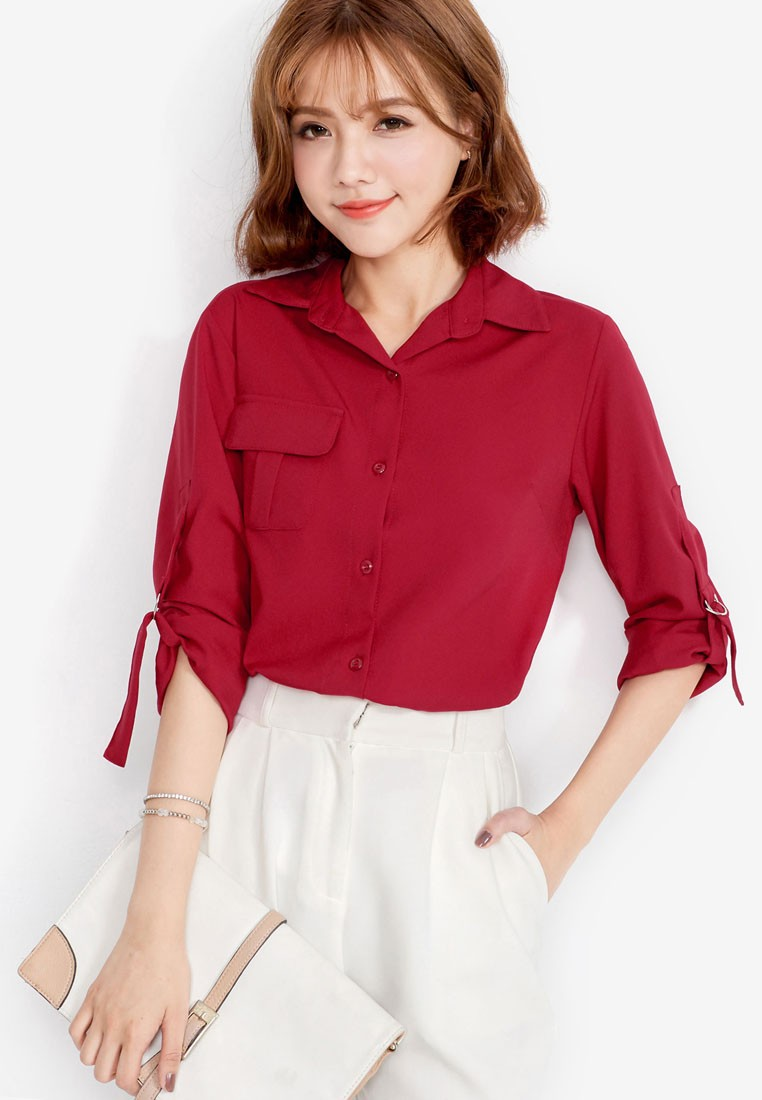 Classic Shirt with Adjustable Sleeves