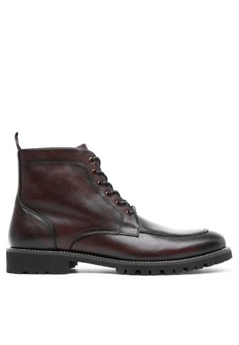 Twenty Eight Shoes Vintage Leather Martin Boot DS816307 A66EFSH76C3B20GS_1
