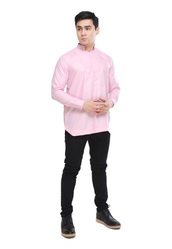 Amar Amran pink Kurta Qardhawi 8FA2BAA5BEEFBAGS_1