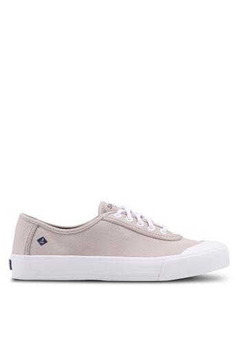 Sperry grey A8 Crest Edge LTT Sneaker 1258FSH8466B32GS_1
