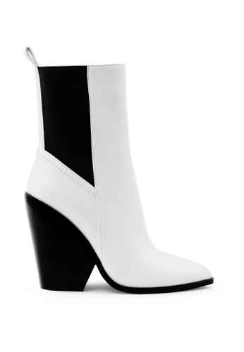 London Rag white Bicolor Chelsea Boots 37FDASHEBCB4B2GS_1