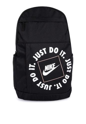 Nike black Elemental Jdi Backpack EB122AC18C98D2GS_1