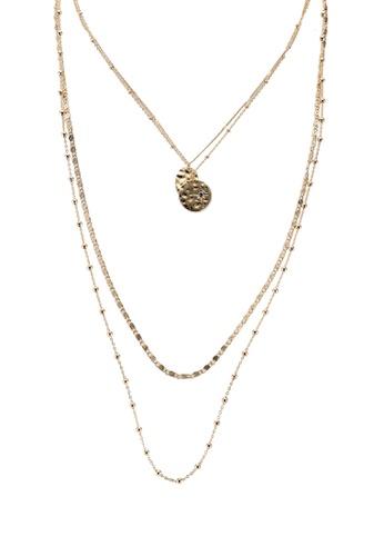 Pieces gold Pcjulli Combi Necklace A3197AC4E41B3DGS_1