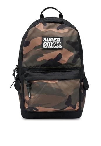 SUPERDRY green Block Edition Montana Backpack 58ADBAC295D815GS_1